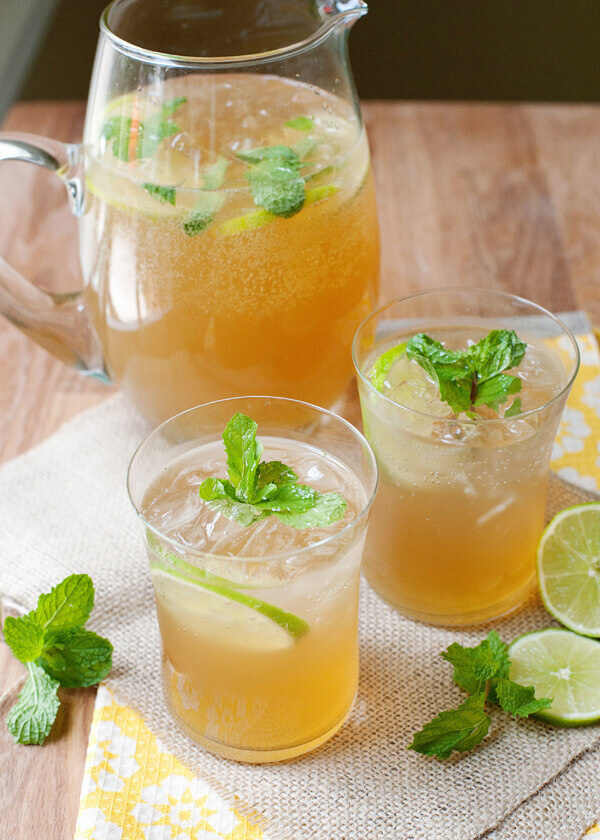 các nước uống cho mùa hè